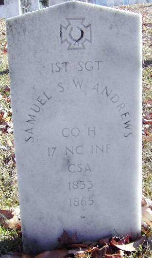 Sgt Samuel S. W. Andrews
