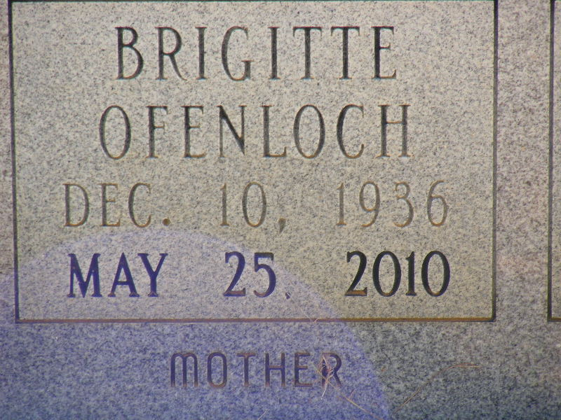 Brigitte K <i>Ofenloch</i> Dermid
