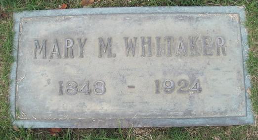 Mary Melisa <i>Prickett</i> Whitaker