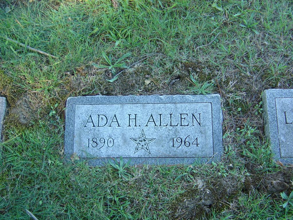 Ada H Allen