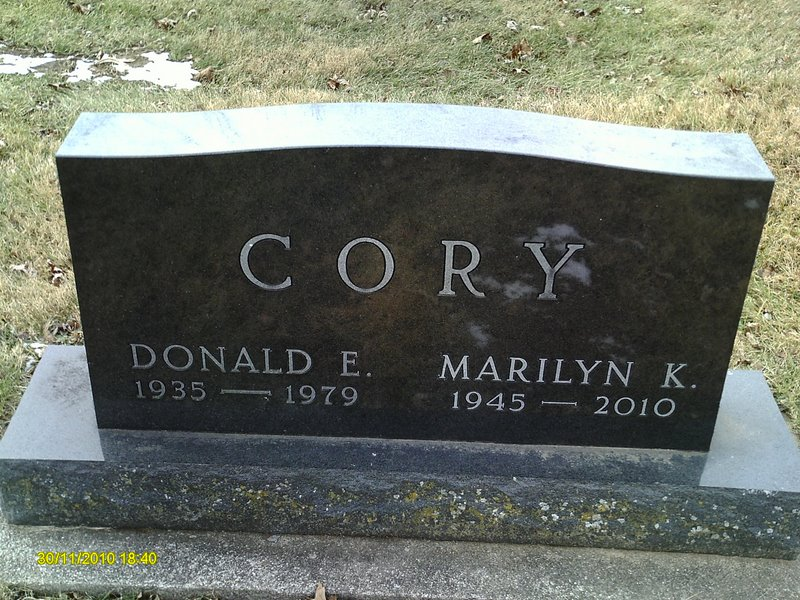 Marilyn Kay <i>Lowery</i> Cory