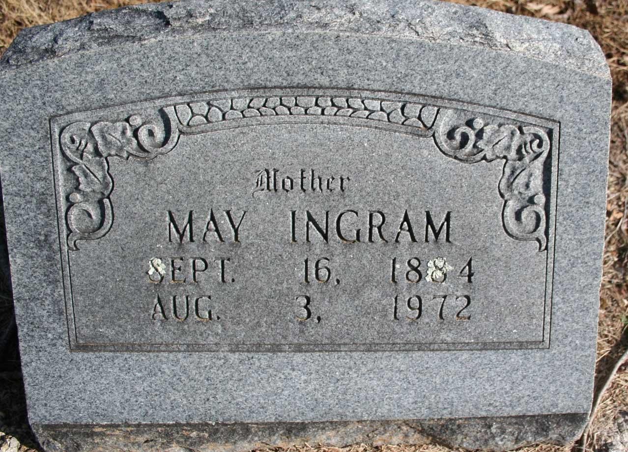Amy May <i>Randolph</i> Ingram