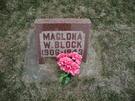 Catherine Maglona <i>Williams</i> Block