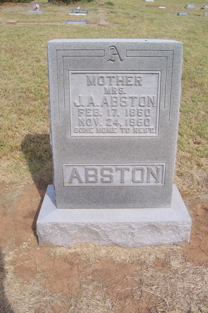 Amanda Belle <i>Davis</i> Abston