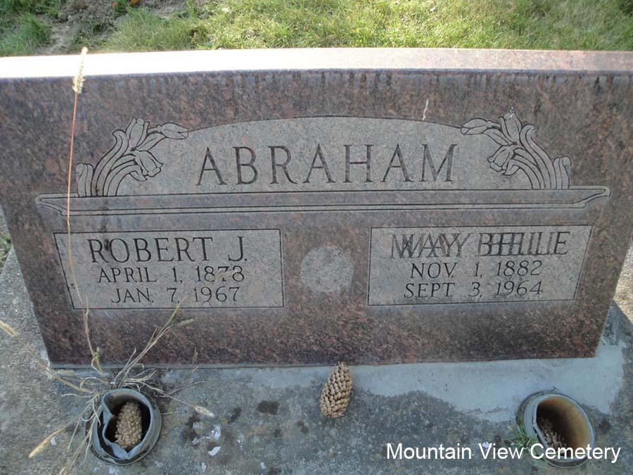 May Belle <i>McDaniels</i> Abraham
