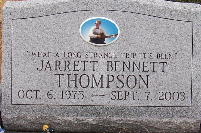 Sgt Jarrett Bennett Thompson