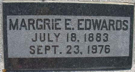 Margrie Eula <i>Feagin</i> Edwards
