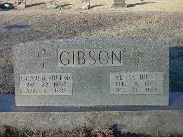 Charles Walter Reem Gibson