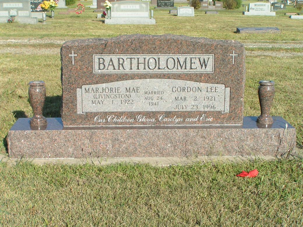 Gordon Lee Bartholomew