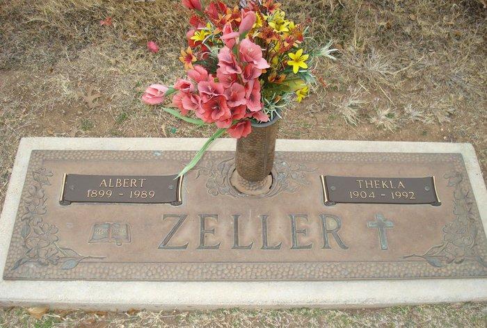 Thekla <i>Schmidt</i> Zeller