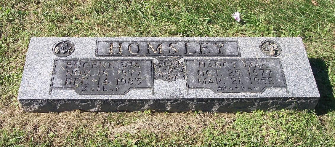 Nancy May (Mae) <i>Henry</i> Homsley