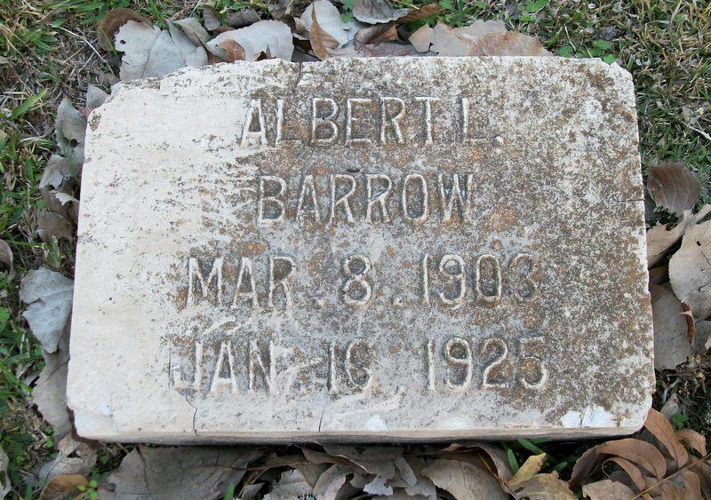 Albert Lewis Barrow