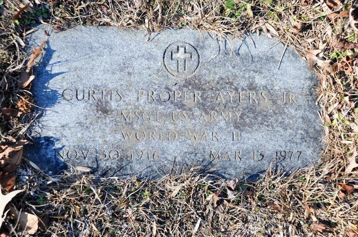 Curtis Proper Ayers, Jr