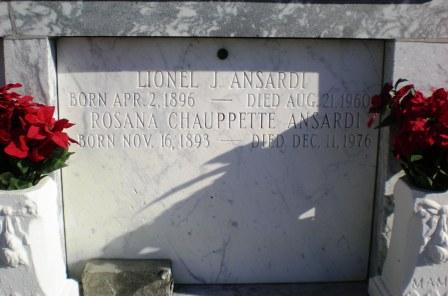 Lionel Joseph Ansardi
