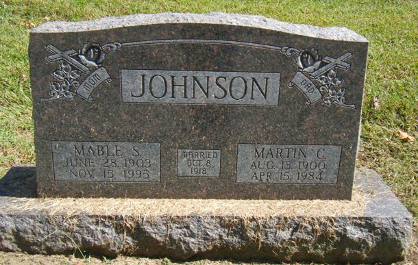 Mable Sabrena <i>Wilson</i> Johnson