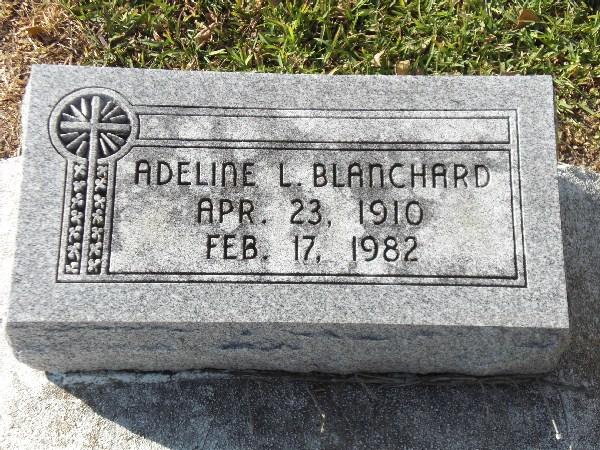 Adeline <i>LeJeune</i> Blanchard
