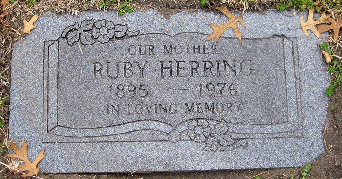 Ruby Marie <i>Hutchins</i> Herring