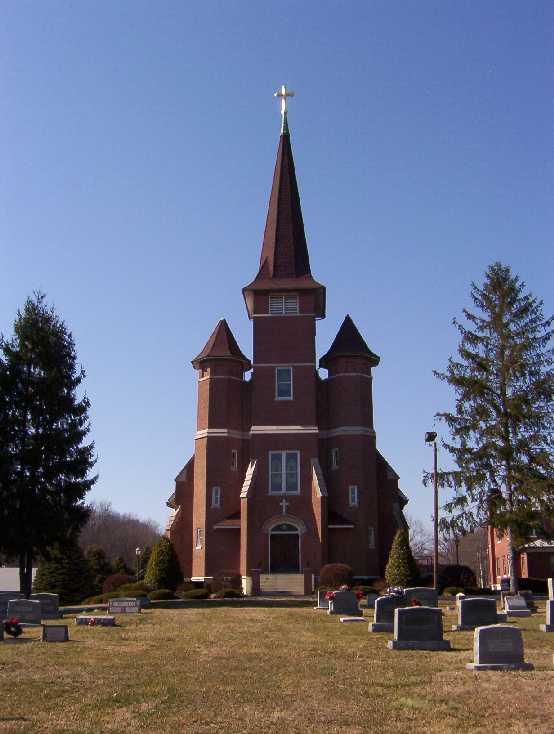 Saint Mary of the Knobs Cemetery