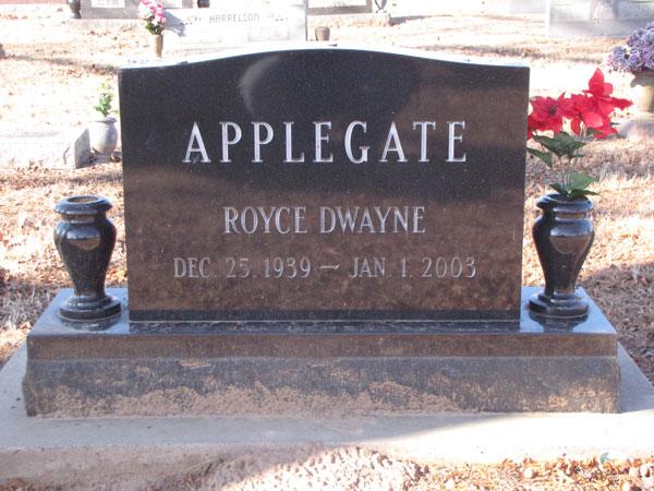 Royce D. Applegate