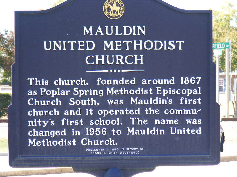 Mauldin United Methodist Church Cemetery