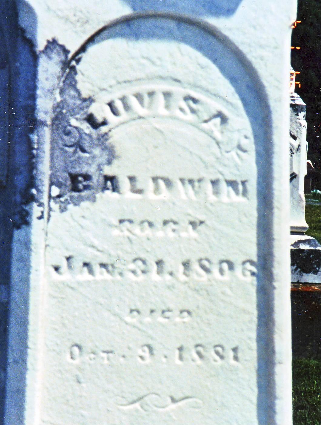Luvisa <i>Jolly</i> Baldwin