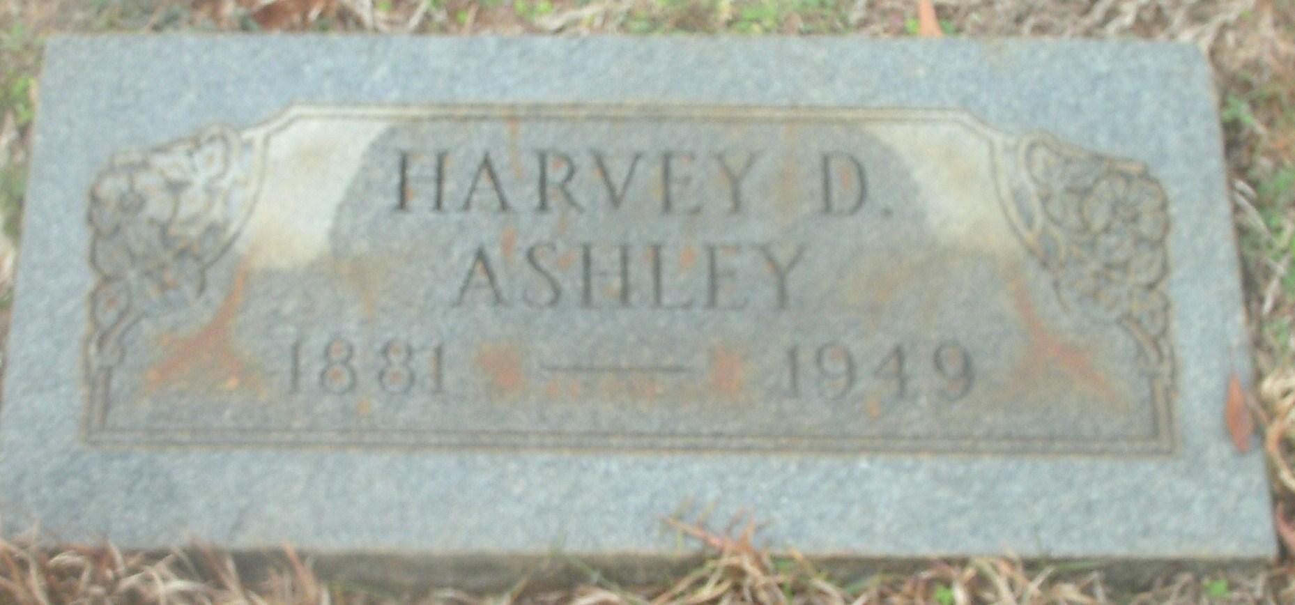 Harvey D. Ashley