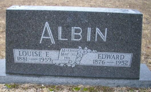Louise Elizabeth Lizzie <i>Kraft</i> Albin