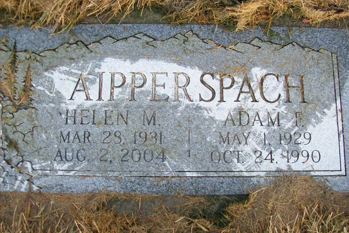 Helen Mae <i>Bagnall</i> Aipperspach