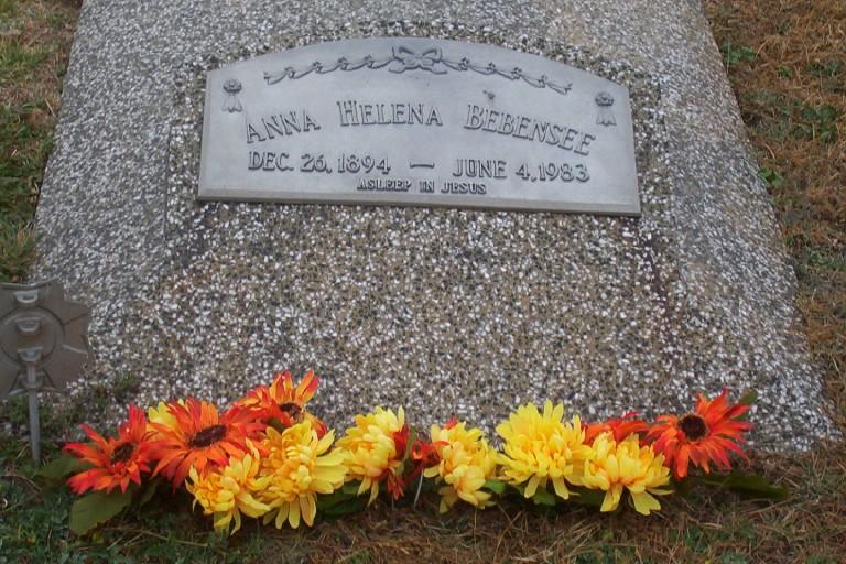 Anna Helena <i>Habben</i> Bebensee