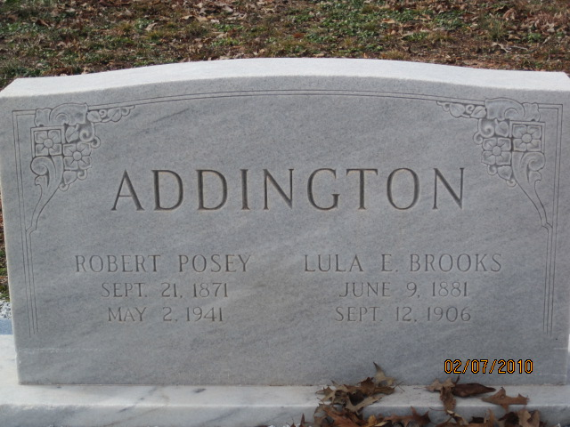 Lula E. <i>Brooks</i> Addington