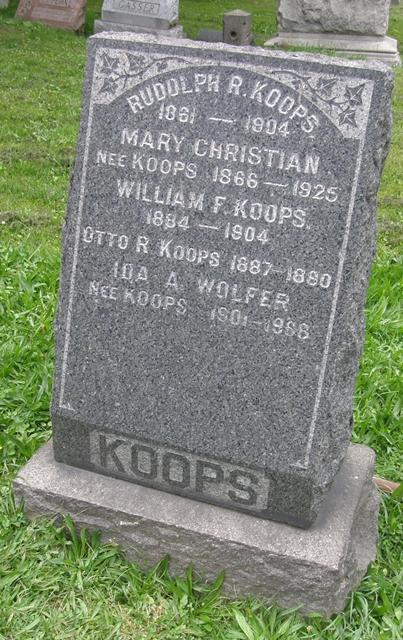 Mary <i>Koops</i> Christian