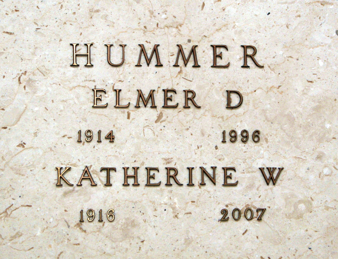 Katherine W. <i>Mayer</i> Hummer