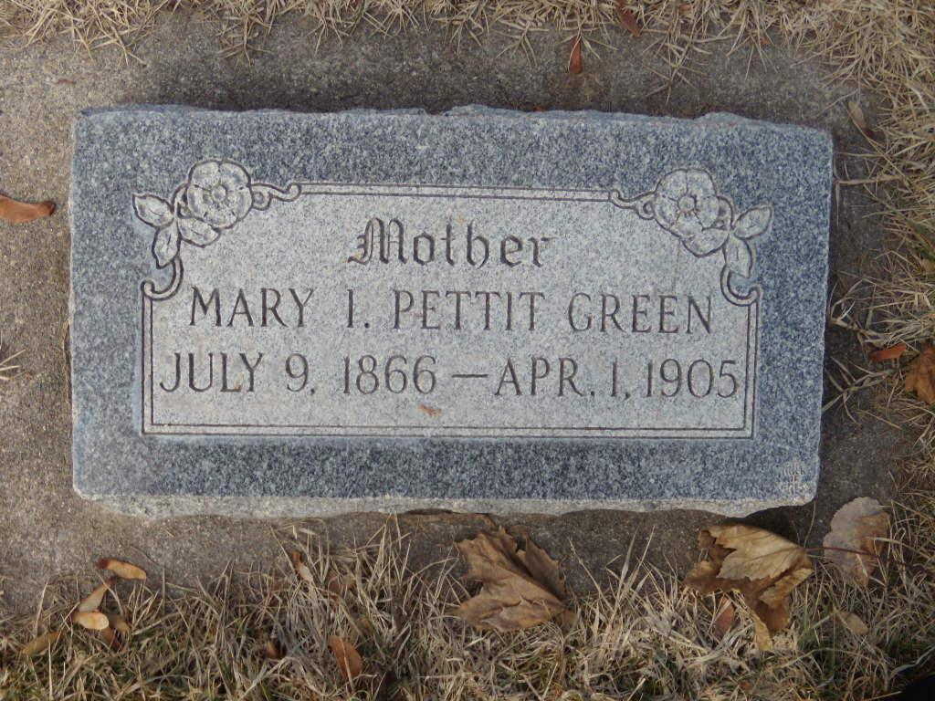 Mary Isabel <i>Pettit</i> Green