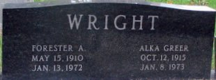 Forester A Wright