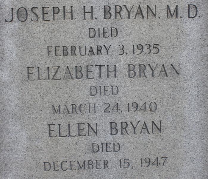 Dr Joseph Hammond Bryan