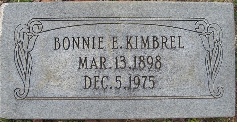 Bonnie E Kimbrel