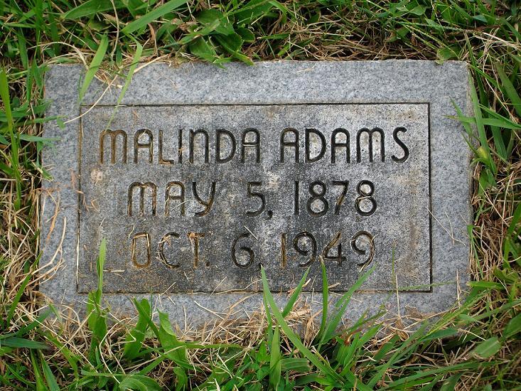 Malinda Hope <i>Hunt</i> Adams
