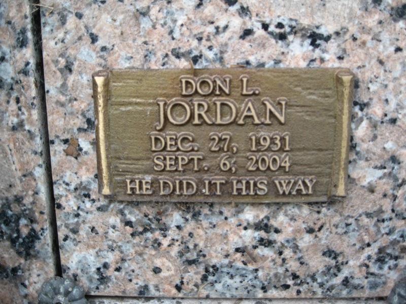 Don L. Jordan