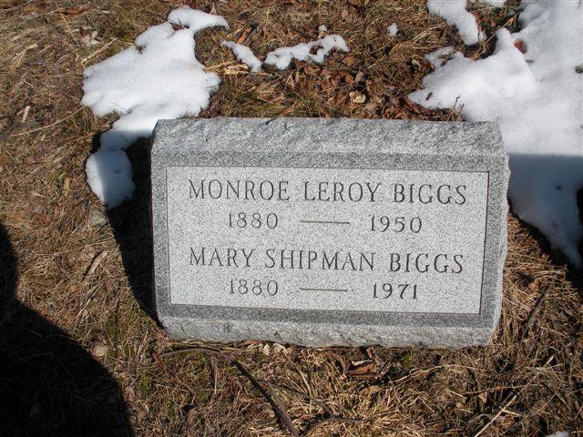 Mary <i>Shipman</i> Biggs