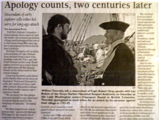 Capt Robert Gray (1755-1806) - Find A Grave Memorial