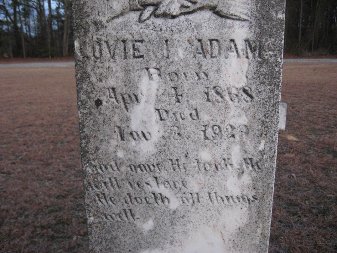 Lovie I. <i>Woodell</i> Adams