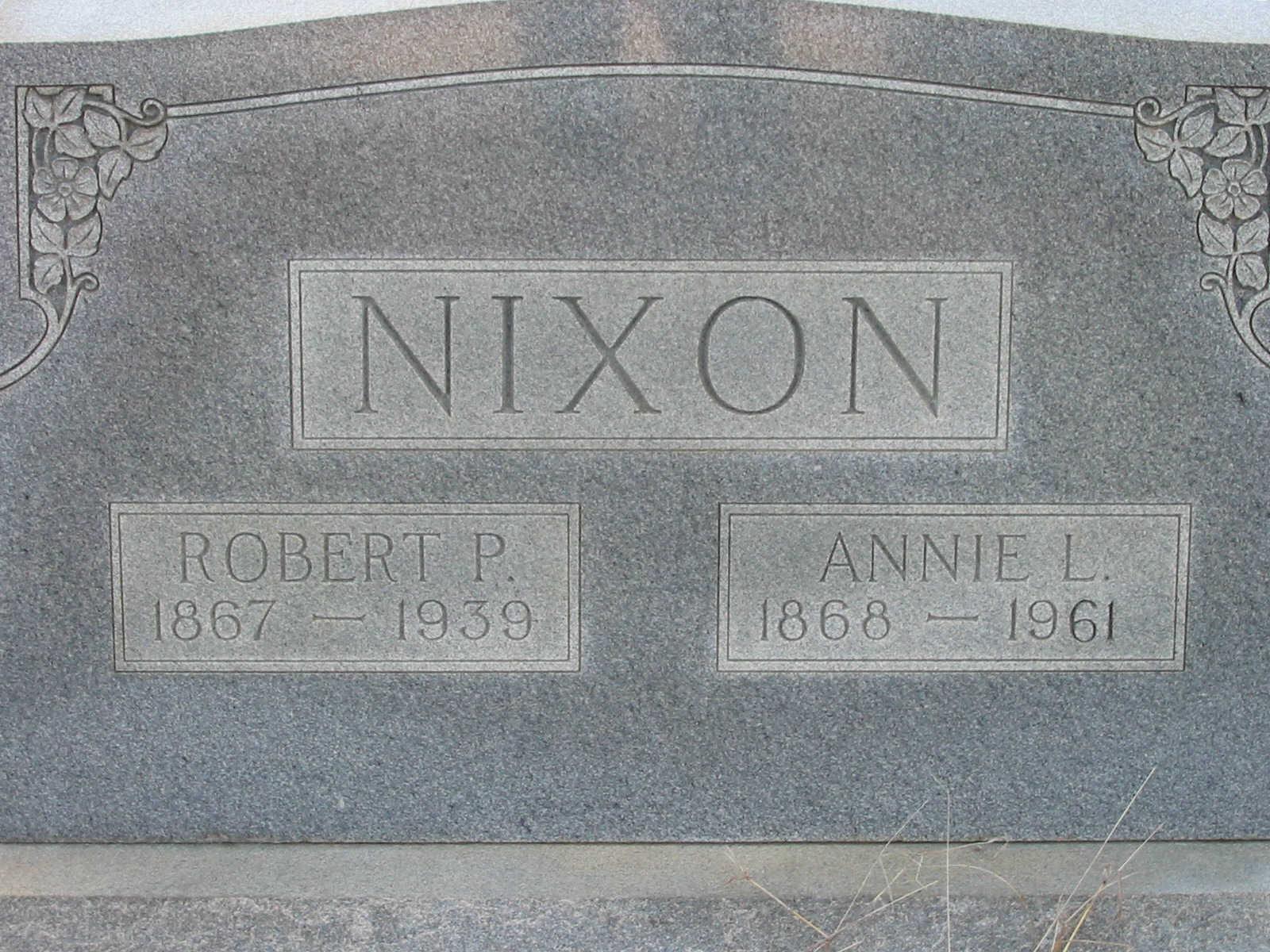 Annie Lenora <i>Bohannon</i> Nixon