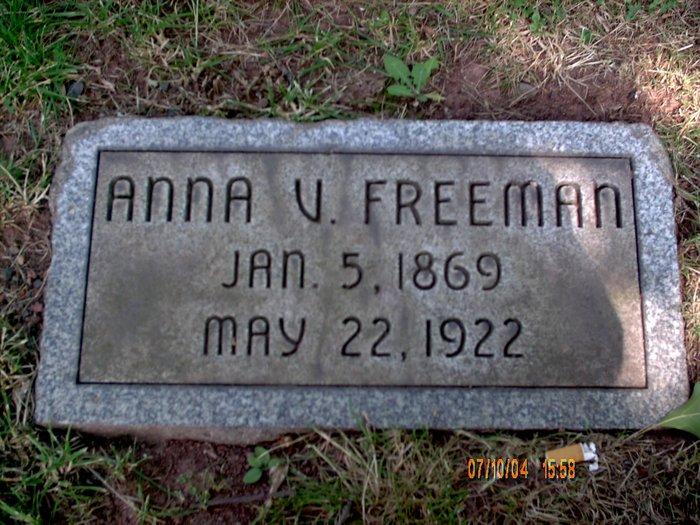 Anna Virginia <i>Shourds</i> Freeman