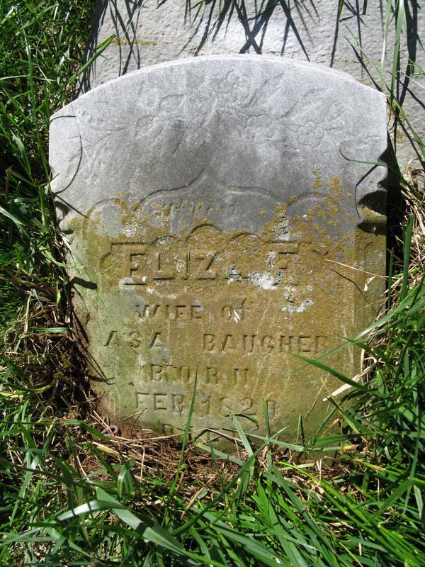 Eliza <i>Rucker</i> Baugher
