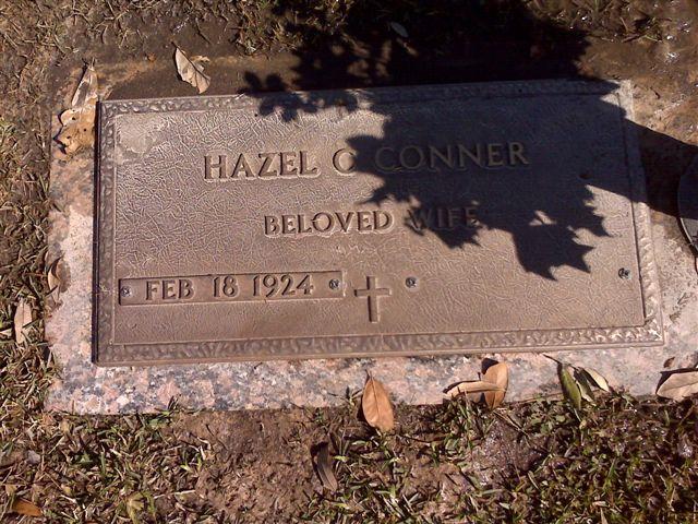 Hazel Christine <i>Hall</i> Conner