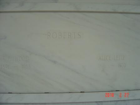 Alice <i>Leitz</i> Roberts