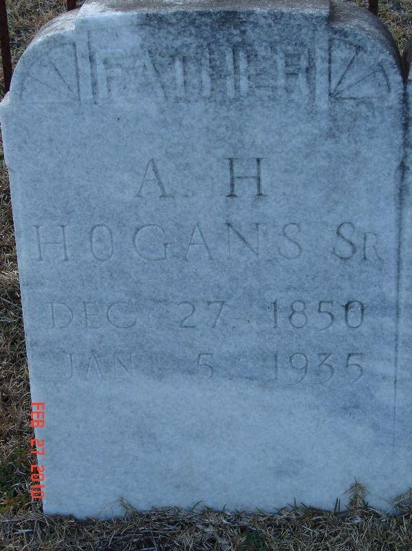 Arch H Hogans, Sr