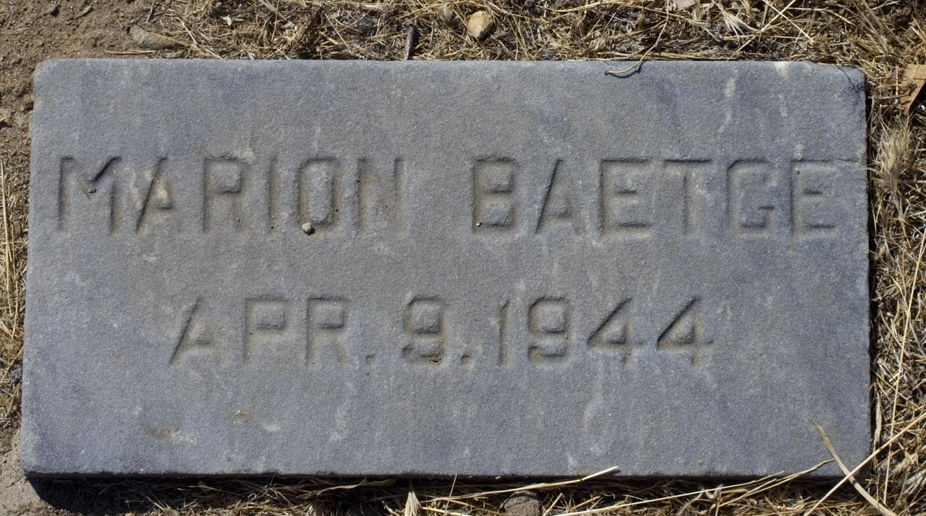 Marion Joyce Baetge