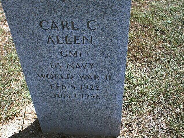 Carl Claiborn Allen