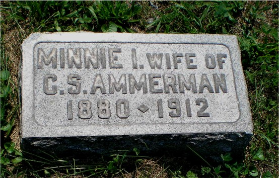 Minnie Irene <i>Hoover</i> Ammerman